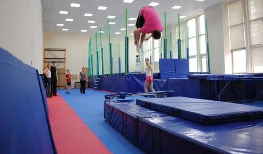 Батутный зал для сноубордистов начнут строить в Ижевске в 2014 году