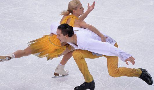 Российские фигуристы завоевали золото и серебро в соревнованиях пар на Олимпиаде