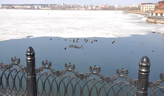 Дурацкий вопрос: скажется ли на качестве питьевой воды в Ижевском пруду понижение его уровня?