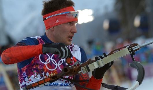 Российский биатлонист Евгений Гараничев завоевал на Олимпиаде в день рождения бронзу