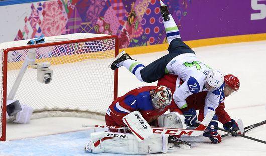 Сборная России по хоккею выиграла первый матч на Олимпиаде в Сочи