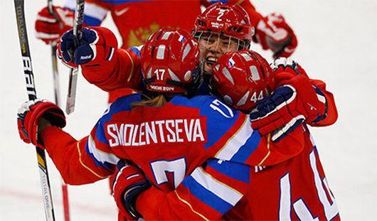 Российские хоккеистки выиграли у cборной Швеции со счётом 3:1