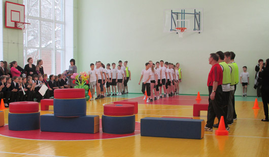Новый спортзал открыли в ижевской школе