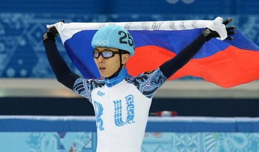 Золото и серебро завоевала Россия на шорт-треке