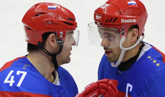 Сборная России по хоккею сыграет с Норвегией на Олимпиаде в Сочи
