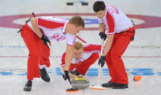 Российская мужская сборная по керлингу заняла 7-е место на Олимпиаде в Сочи