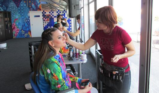 Визажист из Ижевска делала макияж для Елены Исинбаевой на открытие Олимпиады