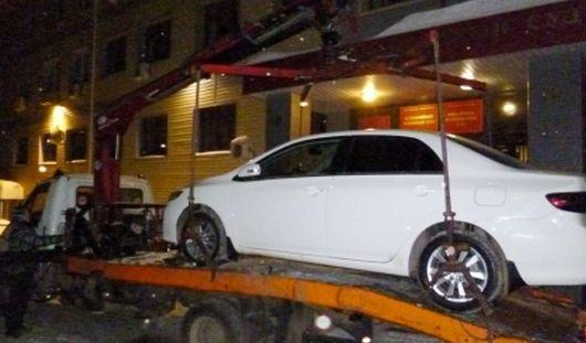 Судебные приставы Удмуртии запретили парковку вблизи зданий судов