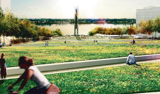 Обновленная Центральная площадь Ижевска: утопия или реальность?