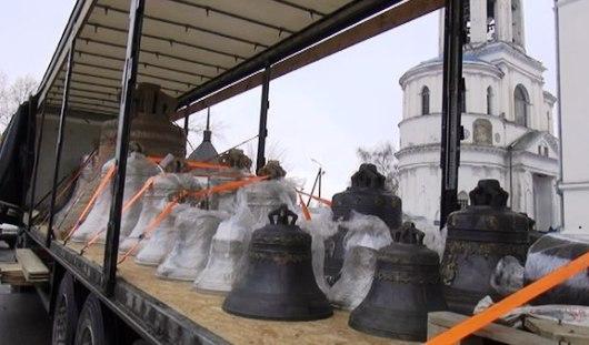 В Ижевск привезли уникальный подбор из 30 колоколов