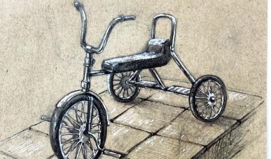 Фотофакт: скульптура трехколесного велосипеда появится в Ижевске