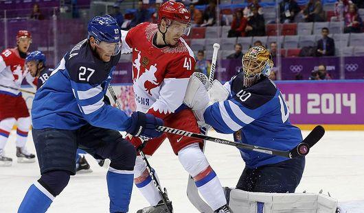 Российские хоккеисты остались без медалей домашней Олимпиады-2014