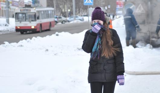 Морозные выходные в Ижевске сменит потепление