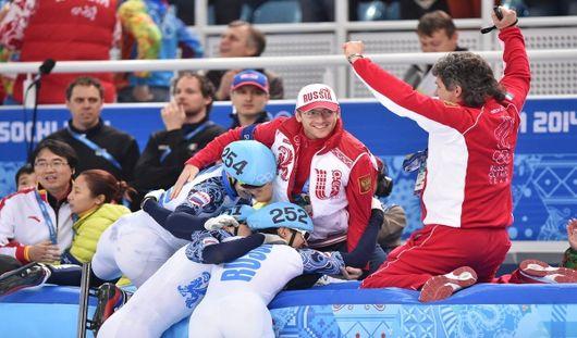 Девятое золото на Олимпиаде-2014 для России добыли конькобежцы