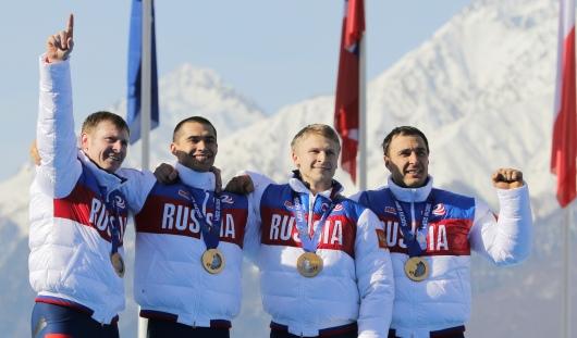 Российские бобслеисты принесли еще одно золото