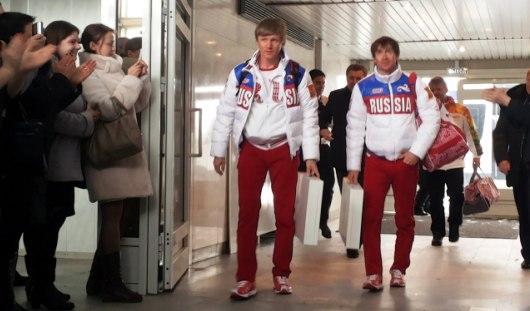 Лыжники Максим Вылегжанин и Дмитрий Япаров вернулись в Удмуртию