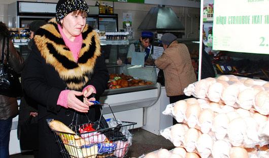 В 2014 году яйца в Ижевске подешевели на 20%