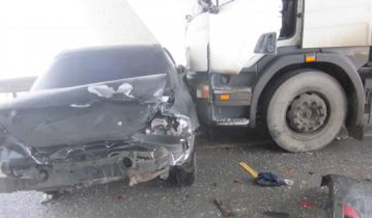Под Казанью столкнулись 15 автомобилей