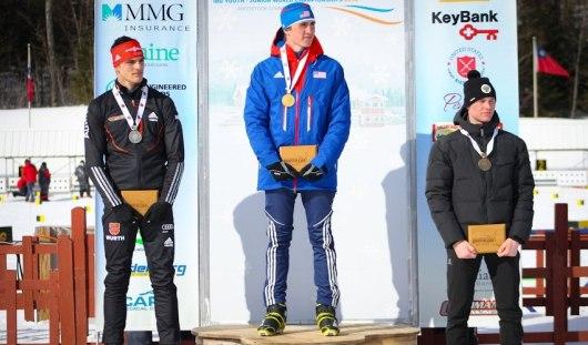 Биатлонист из Удмуртии выиграл гонку на Чемпионате мира среди юниоров
