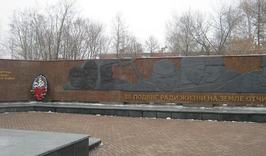 В Ижевске вандалы разрисовали монумент боевой и трудовой славы