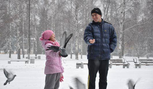 Наступившая неделя в Ижевске будет теплой и снежной