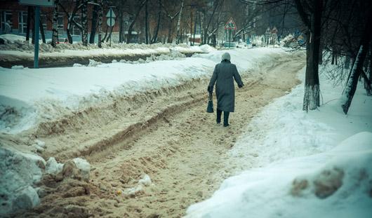 Кто отвечает за нечищеные тротуары в Ижевске