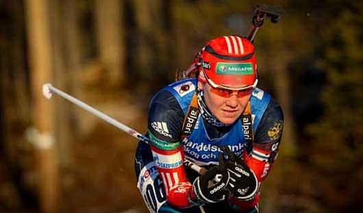 Биатлонистка из Удмуртии Валентина Назарова выиграла спринт на этапе Кубка IBU