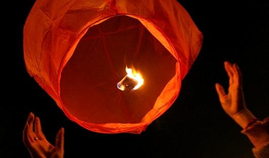 Штраф за запуск «небесного фонарика» в Ижевске составит 1,5 тысячи рублей