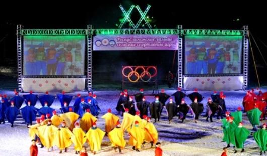 В Удмуртии стартовали Зимние сельские спортивные игры