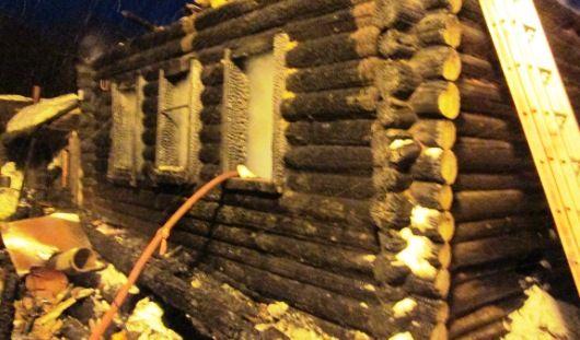 В Можгинском районе Удмуртии при пожаре погибла женщина с грудным ребенком
