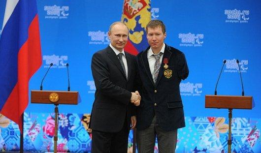 Владимир Путин наградил паралимпийца из Удмуртии Владислава Лекомцева орденом