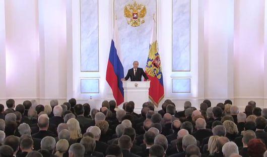 Путин одобрил проект договора о вступлении Крыма в состав России