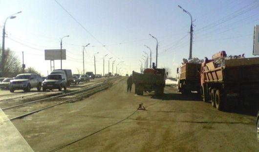 Обрыв трамвайных проводов произошел в Ижевске