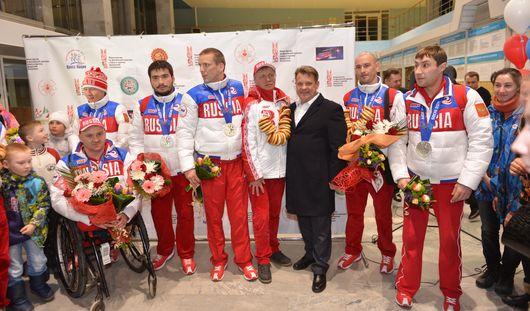 В пресс-центре МГ «Центр» состоялась большая пресс-конференция с паралимпийскими спортсменами из Удмуртии