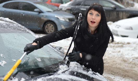 На Ижевск пришел московский снегопад