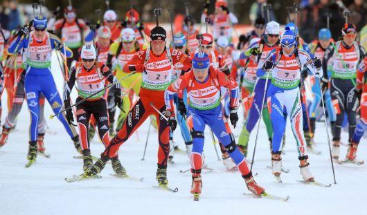 Женская сборная Удмуртии по биатлону завоевала «серебро» на чемпионате России