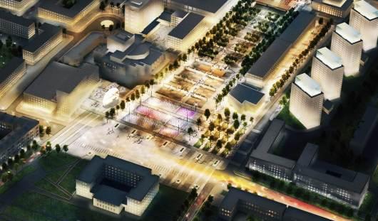 В Ижевске презентовали финальную концепцию Центральной площади