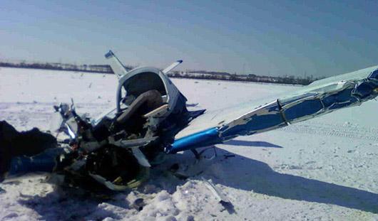 Под Ижевском разбился легкомоторный самолет