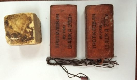 Свыше 600 граммов тротила нашли у ранее судимого ижевчанина