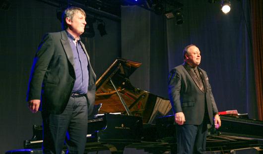 Известные пианисты Гиндин и Березовский открыли в Ижевске фестиваль им. Чайковского