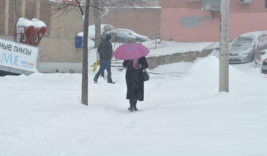 Снегопад в Ижевске: за 3 дня в городе выпала половина месячной нормы осадков