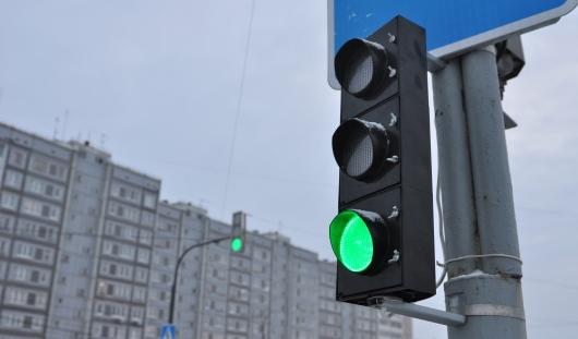Работу светофоров на перекрестке Пушкинская - Северный в Ижевске подкорректируют