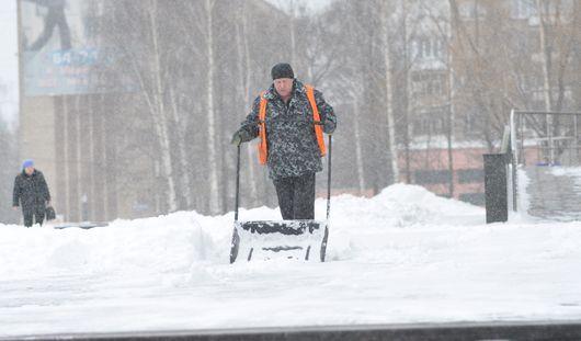 Все выходные в Ижевске будет идти снег