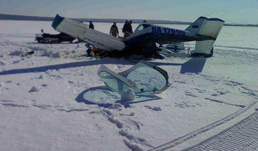 Самолет под Ижевском упал из-за потери управляемости