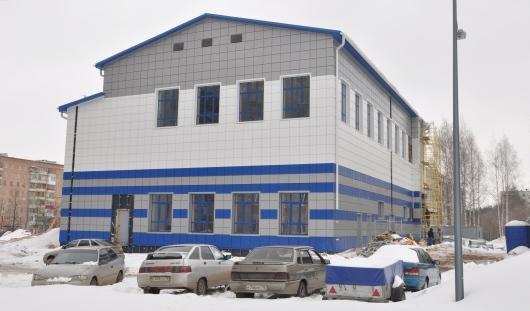 В Устиновском районе Ижевска скоро откроется новый бассейн