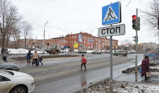 В Ижевске изменят режим работы двух светофоров
