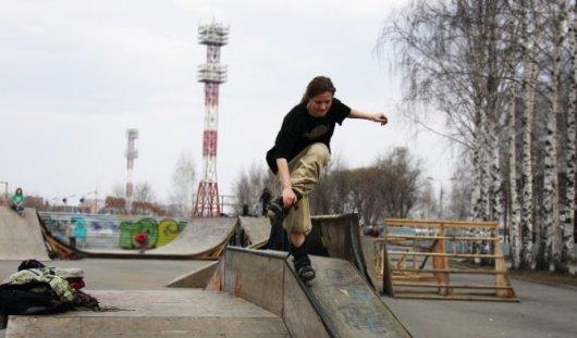 Активисты Ижевска направили в городскую администрацию петицию о создании скейт-парка