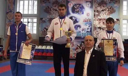 Кикбоксер из Ижевска стал чемпионом России