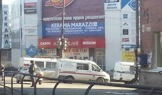 В центре Ижевска заминировали жилой дом