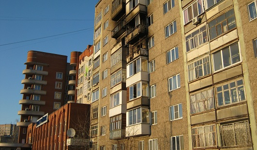 В ижевской многоэтажке произошел пожар